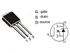 What are the three poles of the mos tube? How to determine the three poles of the mos tube?